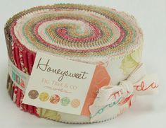 Jelly Roll of Honeysweet by Fig Tree from by handmadeisheartmade, $29.95