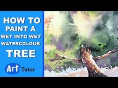 Learn how to paint a loose, wet into wet tree, using watercolour. Andrew Geeson has an impressionistic style that is quite unique and very simple to follow. ...