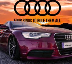 Four rings to rule them all.