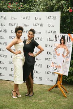 Chitrangada Singh in Dior with Kalyani Chawla