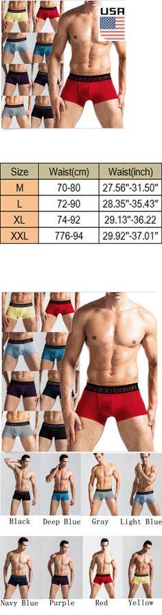 Man Underwear: Men S Underwear Boxer Briefs Bulge Pouch Trunks Shorts Underpants Pants Usa -> BUY IT NOW ONLY: $3.99 on eBay!