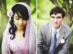 Sweet Minnesota Fusion Wedding This wedding is the perfect cultural fusion between two people desperately in love. Saphiya and her groom David planned their wedding in just three months, but you'd never guess it. The details are all so perfect and personal to their families, we get the sweetest little butterflies looking through their photos from the wonderful Gene of Geneoh Photography.