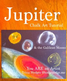 Jupiter Chalk Art Tu