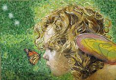 Secret between you and me | Atsuko Laskaris, Mosaic Quest - Her work is amazing!!
