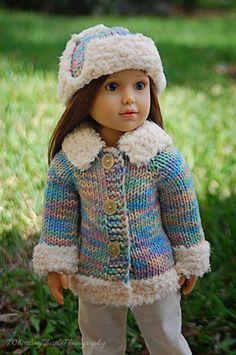 Duck Dynasty A LaRusse Jacket & Hat 18 inch SLIM doll by KNITnPLAY