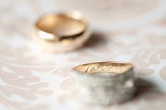 A secret message from the groom to his bride, engraving 'forever' inside her wedding ring // Jel Photography Alternative wedding photographers Auckland