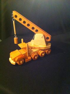 Wooden Moving Toys: Part One