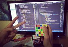 I miss .... & I wanna to pop my brain.. .. I'm going to fight with JavaScript  . .:@hardware05 . #html #css #js #java #javascript #project #programming #dev #nyc #sanfrancisco #tehran #webdeveloper #webdesign #design #rubikscube #rubik #code #night #3am #setup #startup #success #entrepreneur #nerd #geek #برنامه_نویسی #کامپیوتر #مهندسی_کامپیوتر #روبیک