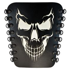 Grinning Skull Archers Arm Guard - DK6106 by Medieval Collectibles black  and green Carnaval 6327ab96f998