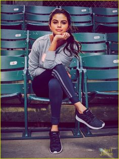 Selena Gomez Bares Some Midriff for adidas NEO Label's Fall 2015 Campaign | selena gomez fall 2015 adidas neo 01 - Photo - http://www.babyphat.co.za/?p=23872&Urban+Angels