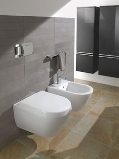 Bathroom Pinspiration. The Villeroy & Boch Subway Wall Mounted Toilet Pan - VILL066 (66001001). Buy Wall Hung WC's from UK Bathrooms
