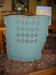 lovely blanket edging