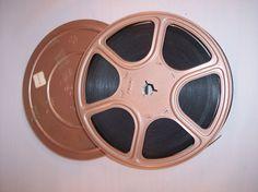 """Vintage Super 8mm Boxing Movie Joe Louis Versus Max Schmeling 7"""" Reel 400 ft"""