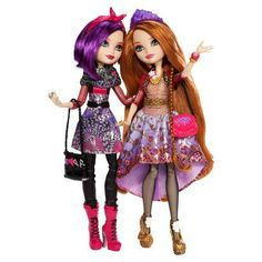 We can't wait for the Ever After High Holly O'Hair and Poppy O'Hair Doll 2-Pack to be released!