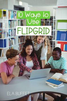 Flipgrid is an awesome video discussion platform that's one of our favorite technology tools! Read on for 10 of our favorite ways to use Flipgrid in the classroom. hacks tech 10 Ways to Use Flipgrid in the Classroom - ELA Buffet Teaching Technology, Technology Tools, Technology Integration, Medical Technology, Educational Technology, Teaching Resources, Technology Design, Technology Logo, Technology In Classroom