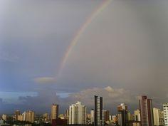 Arco Iris no céu de Belém