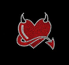 Heart Rhinestone Transfer Bling Hot Fix Iron on Patch Motif Design Transfer Rhinestone Shirts, Rhinestone Art, Rhinestone Transfers, Night Aesthetic, Red Aesthetic, Print Wallpaper, Iphone Wallpaper, Arte Heavy Metal, Business Fonts