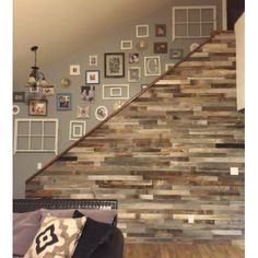 Reclaimed Wood Wall Paneling Pack of 10 Square Feet Inch Wide) Barnwood Accent Wall, ShipLap Wood Boards, Rustic Barn Wood Ceiling Plank Decor Farmhouse Living Room Panel AllBarnWood Reclaimed Wood Wall Panels, Wood Panel Walls, Wood Wall Paneling, Weathered Wood, Distressed Wood, Reclaimed Barn Wood, Palettes Murales, Pallet Walls, Pallet Wall Bathroom