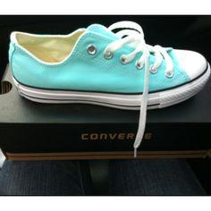 Tiffany blue converse MINE