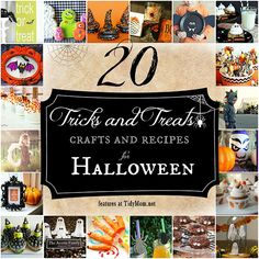 20 Crafts and Treats for Halloween