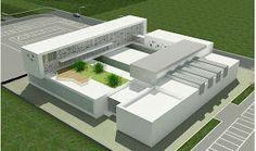laboratorios School Building Design, Architecture Building Design, Concept Architecture, School Architecture, Amazing Architecture, School Design, Construction Contractors, Schematic Design, Archi Design