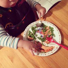 Cooking for Hugo: Teriyaki Salmon