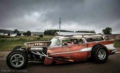 """Rat Rod 57 Chevy """"Nomad"""""""