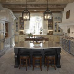 mediterranean kitchen by Hendel Homes, Rick & Amy Hendel