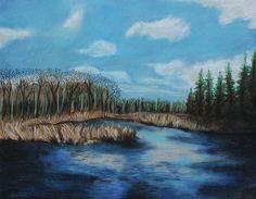 Marshland 1 by Jeanne Fischer #landscape