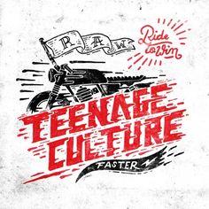 Instagram media by wawawsrynn - TEENAGE CULTURE  Texture Speed Lines Motorbike Hand Drawn
