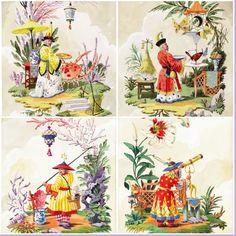 Watercolor Mosaic series Harrison Howard