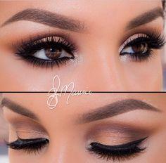 ! Make Up Art, Party Makeup Tutorial, Makeup Tutorial Step By Step, Makeup Tutorials, Makeup Ideas, Bridal Makeup Looks, Wedding Makeup Looks, Wedding Makeup Tips, Wedding Table Decorations