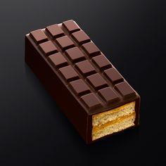 Cake-tablette, noisette-abricot - Jérôme Chaucesse