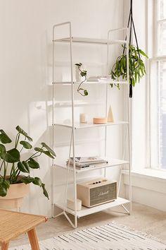 Folding Metal Bookshelf