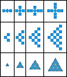 Repeating and Growing Patterns 1st - 2nd Grade Worksheet | Lesson ...