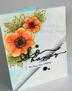 So Glad to Call you Friend, Bold Blossoms, Papertrey Ink,