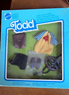 #8914  TODD  OUTFIT IN ORIGINAL BOX VERY NICE ~~ #Mattel #ClothingShoes