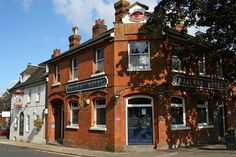 """The Railway Hotel, Preston Street, Faversham, Kent.   The blurb says, """"The Railway is a fine example of an unspoilt Victorian pub ..... The pub offers  a range of real ales from Britain's oldest brewer, Shepherd Neame (based in Faversham) ..... (it) retains many of its original Victorian features in the public areas."""" Bingley Hall via Flickr"""
