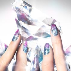 PRO Tip: To remove stubborn glitter nail polish, soak a cotton ball in nail polish remover, place it on your nail, and wrap with a strip of aluminum foil to secure it in place. Remove after five to eight minutes and voilà! The polish will glide right off. #Sephora #PROTip