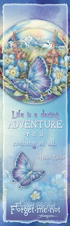"""Butterflies / Life is a Daring Adventure"" par Jody Bergsma"