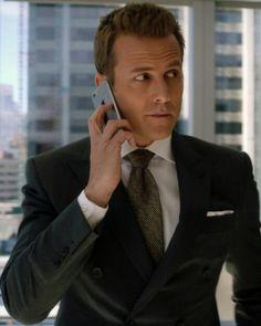 Gabriel Macht as Harvey Specter Suits Tv Series, Suits Tv Shows, Suits You Sir, Donna Paulsen, Suits Harvey, Sarah Rafferty, Gabriel Macht, Harvey Specter, Classy Men