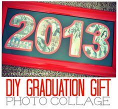 DIY Graduation Gift: Photo Collage