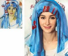 Канделаки Тина - Зинаида Серебрякова - Автопортрет в шарфе