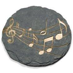 Music Notes Stepping Stone