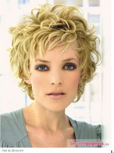 Cuts for short curly hair
