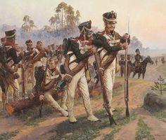 RUSSIA - Granatieri a riposo 1812