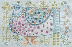 Embroidery kits by nancynicholson.co.uk/sewkits