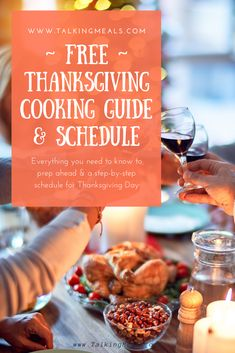 This is your complete guide to planning, prepping, and cooking your Thanksgiving Dinner! In this guide you get: 1. Guide with Tips for a less stressful Thanksgiving Dinner 2. Menu Template 3. Turkey Tips! Guide for buying the right size, how to thaw, how long to cook, and more. 4. Daily Checklist for Prepping ahead 5. Thanksgiving Day Timeline and Schedule of Activities 6. A Blank Template to create your own schedule #thanksgivingideas #thanksgivingdinnerideas #thanksgivingschedule Fall Recipes, Holiday Recipes, Healthy Recipes, Daily Checklist, Healthy Comfort Food, Menu Template, Fall Food, Party Fun, Cooking With Kids