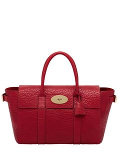 #MULBERRY LARGE BAYSWATER SHRUNKEN LEATHER BAG
