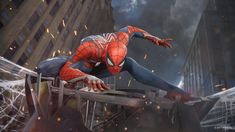 Check out the gameplay demo of Marvel's Spider-Man shown at the 2017 Sony PlayStation Media Showcase. Coming 2018 to For the latest on Marvel's Spider-M. Spider Man Ps4, Spider Man Playstation 4, Spider Man 2018, Playstation Psn, Iron Spider, Spiderman Ps4 Wallpaper, Marvel Dc, Marvel Games, Spiderman Marvel